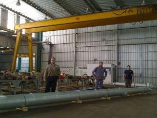 Hemos provisto cilindros hidráulicos de pescante a la empresa VICENTIN